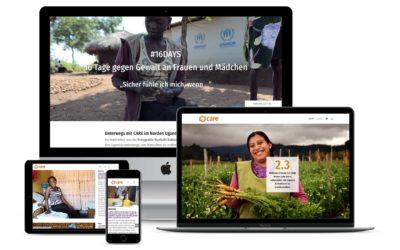 Jahresrückblick: Die neuen Websites Herbst & Winter 2020