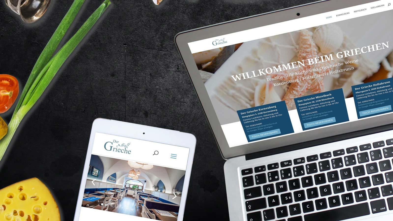 Der Grieche Website
