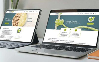 CeeQoo setzt den neuen Markenauftritt von Eurosoy im Web um