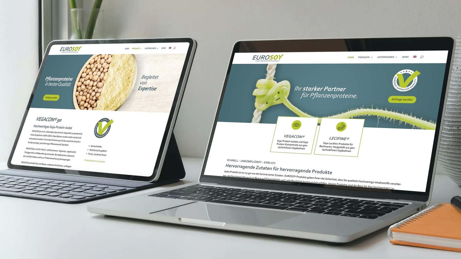Eurosoy Website